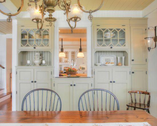 Dining Room Kitchen Pass Through Love Kitchen Reno