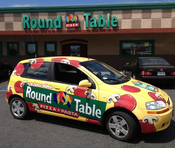pizza vehicle wraps