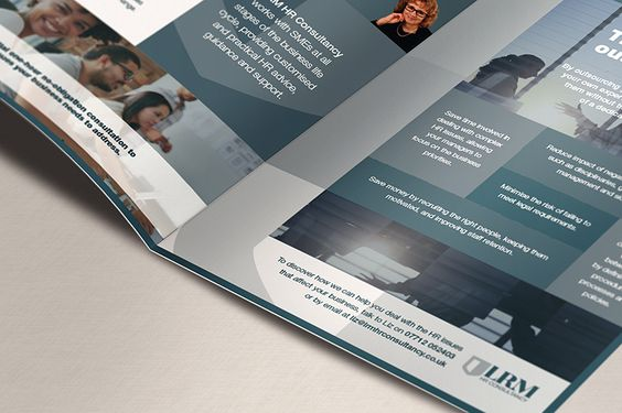 LRM Consultancy Branding and collateral
