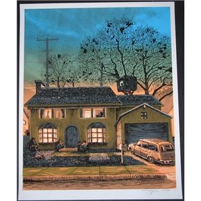 742 evergreen terrace the simpsons poster s n tim doyle for Evergreen terrace 742