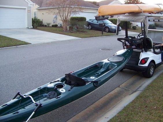 Golf Cart Kayak