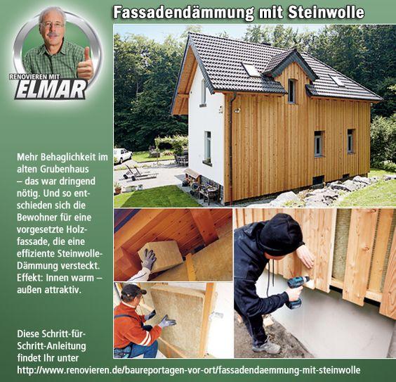 Fassadendämmung Mit Steinwolle | Renovieren.de | House | Pinterest | House