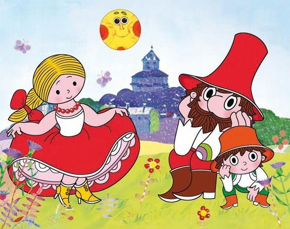 「オ・ロウペジニ一ク・ルンツァイソヴィ」(O loupežníku Rumcajsovi);  画家: ラデク・ピラジュ(Radek Pilař)  #Roboraion #czech #animation #art #culture