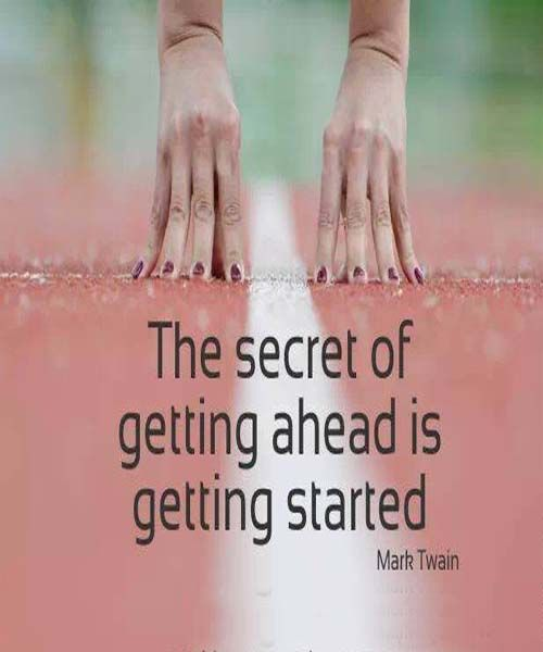 The secret of getting ahead | Friendship, Wisdom quotes and The secret