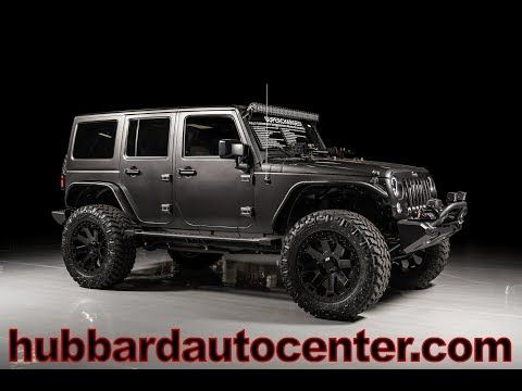 2017 Jeep Wrangler Unlimited Custom With Ripp Supercharged Youtube Carros