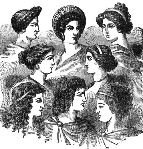 Remarkable Ancient Greek Women Hairstyles Hair Pinterest Festivals Hairstyles For Men Maxibearus