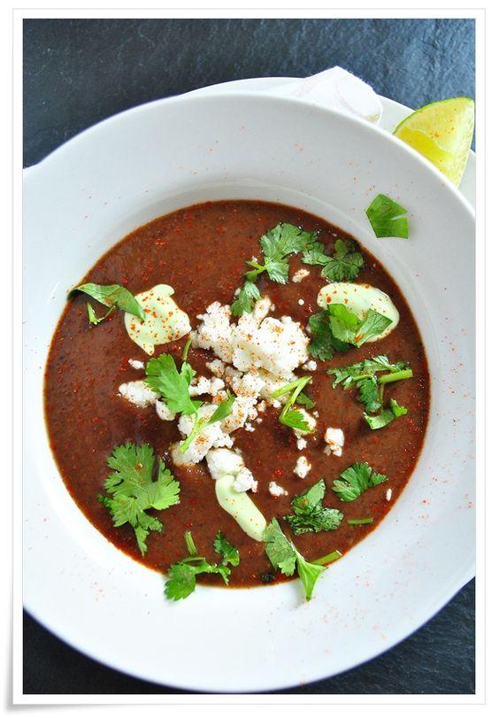 ... more black bean soup black beans spicy beans soups sauces cream black
