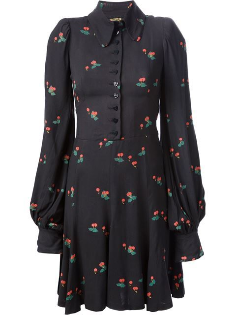 Shop Biba Vintage cherry print dress in Decades from the world's best independent boutiques at farfetch.com. Over 1000 designers from 60 boutiques in one website.