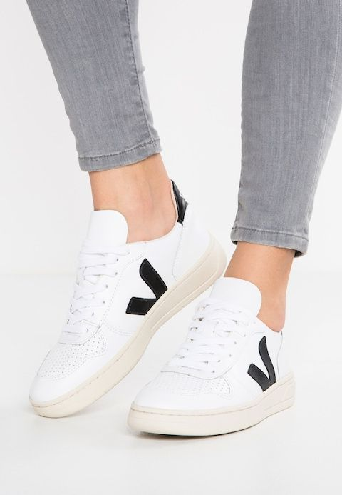 low priced b71e4 34e11 V-10 - Trainers - extra white/black @ Zalando.co.uk ...