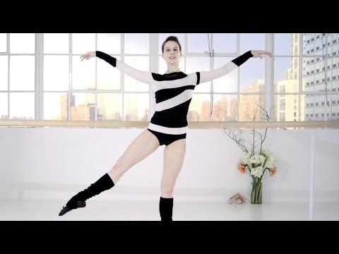 ▶ Ballet Beautiful with Mary Helen Bowers - Shape up from head to toe | NET-A-PORTER.COM - YouTube