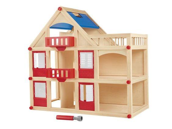PLAYTIVE® JUNIOR Puppenhaus / Werkbank 1
