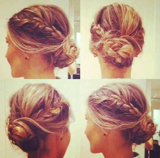 Boho Chic romantic hair updo | H A I R I N S P O ...