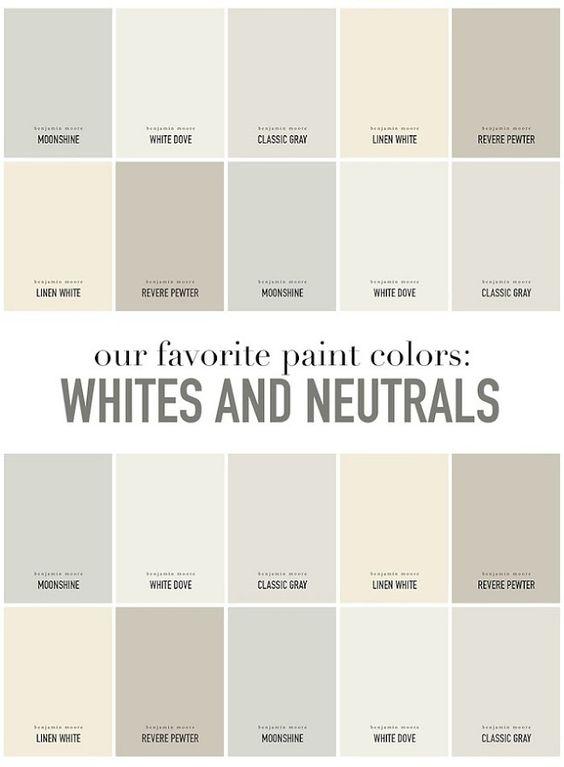 Interior Designer Favorite Whites And Neutrals Paint