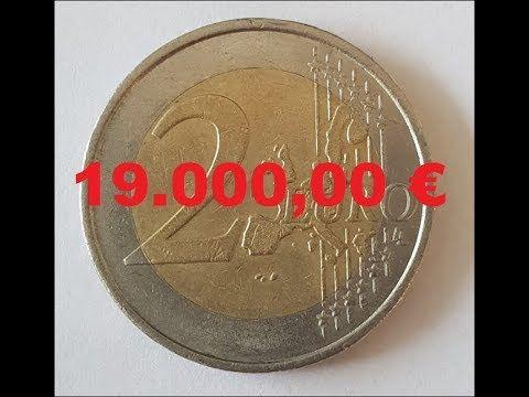 2 Euro Fehlpragung 19 000 00 Youtube D Mark Munzen