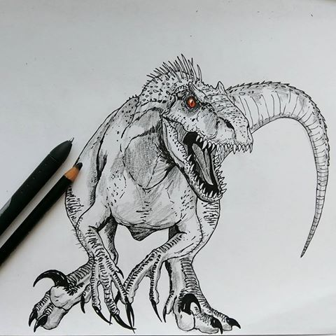 Resultado De Imagen Para Indoraptor Jurassic World 2 En 2019