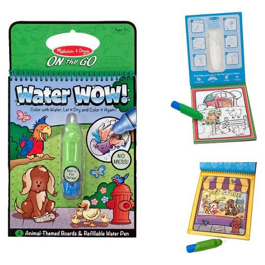 Melissa Doug Water Wow Coloring Book Assorted Coloring Books Easter Baskets For Toddlers Flying With Kids