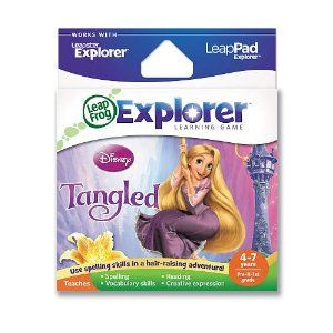 Amazon.com: LeapFrog LeapPad Explorer Learning Game Disney Tangled parallel import goods (japan import): Toys & Games