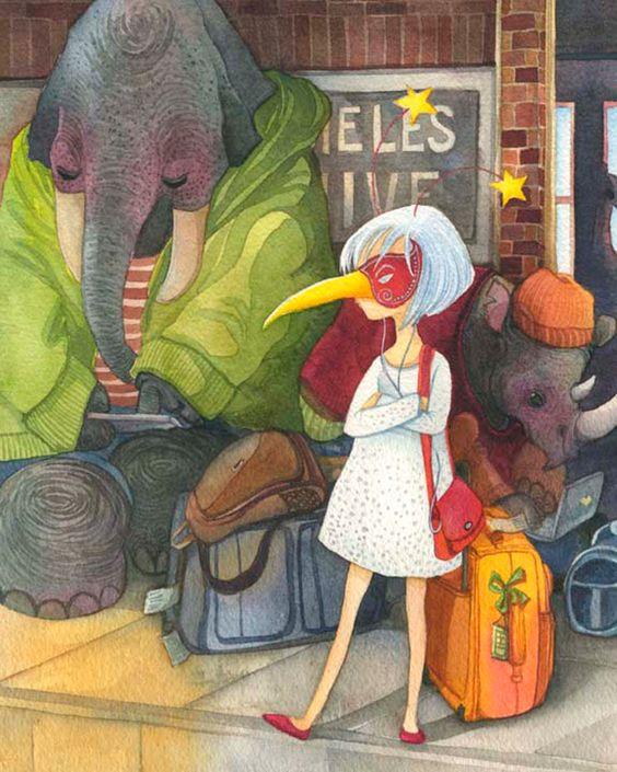 The Art Of Animation, Alina Chau