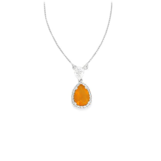 An alluring Necklace from the Annabella collection, made of Sterling Silver…