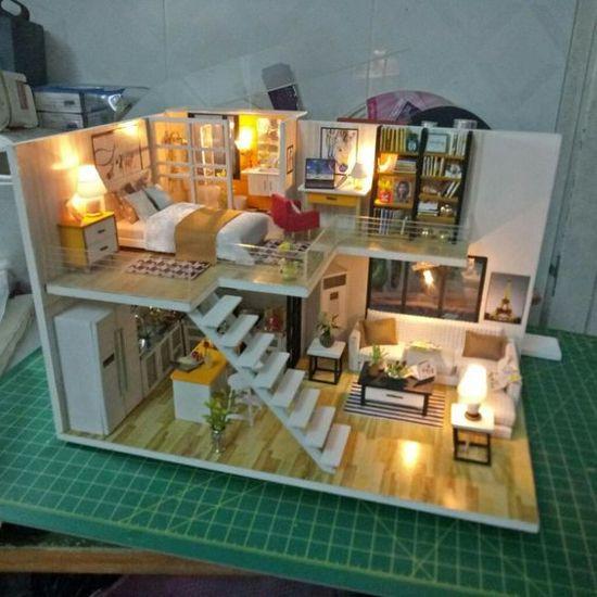 Desain Rumah Minimalis The Sims 3  36 desain interior rumah minimalis dengan lantai mezzanine