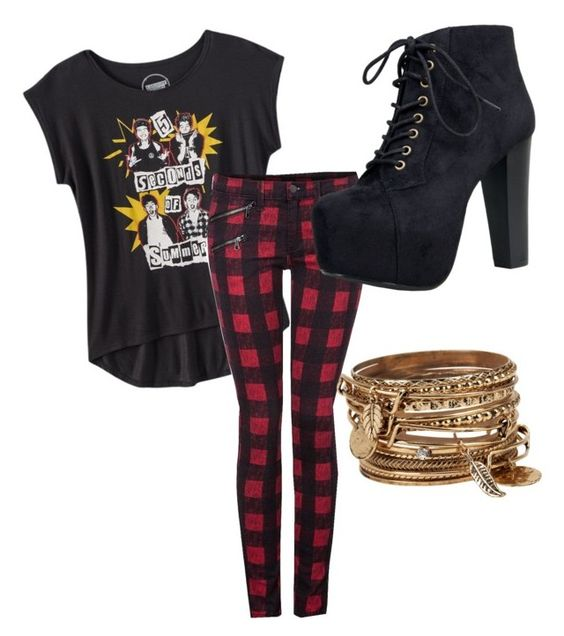 """5sos"" by melwarren on Polyvore featuring Dex, Speed Limit 98, ALDO, women's clothing, women's fashion, women, female, woman, misses and juniors"