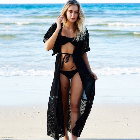 Cardigan Kaftan Beach Sunscreen Beach Cover Up Beach Dress