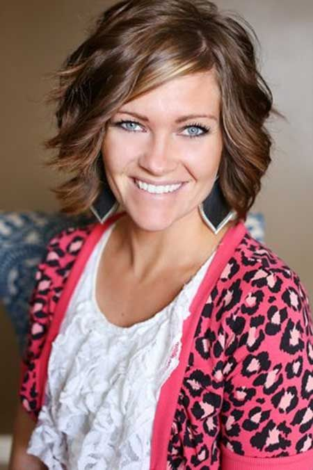 Excellent Wavy Hair Haircuts And Short Wavy On Pinterest Short Hairstyles Gunalazisus