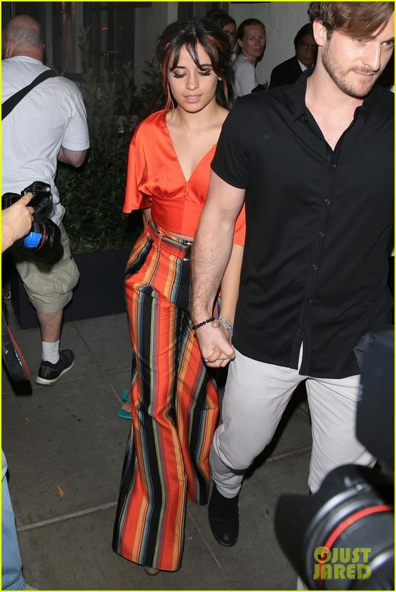 camila cabello matthew hussey hold hands after loreal event 02