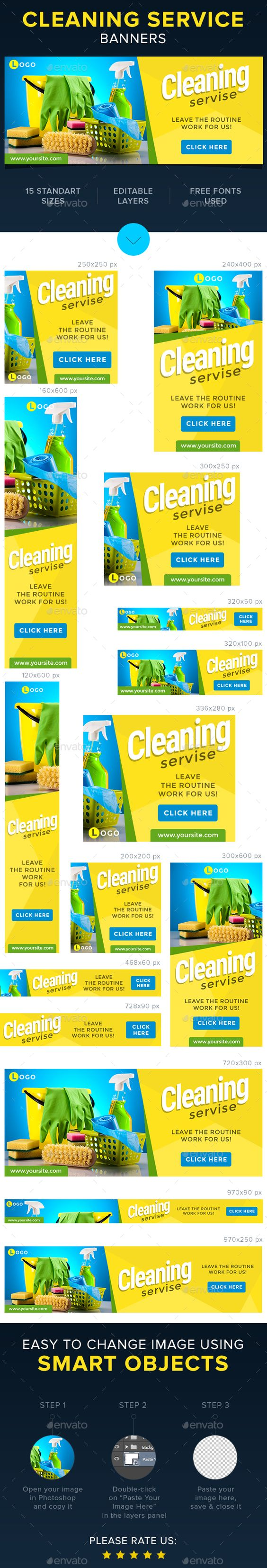 cleaning servise banners banners web design and cleaning cleaning servise banners photoshop psd google adwords web advertising available here rarr