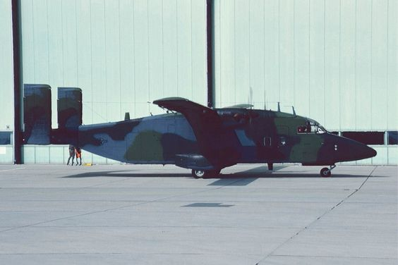 Short C-23A Sherpas of 10th MAS operating 'Pokey' daily flights around USAFE bases always busy.