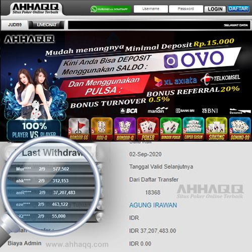 Agen Pkv Deposit Pulsa 5000 Tanpa Potongan Poker