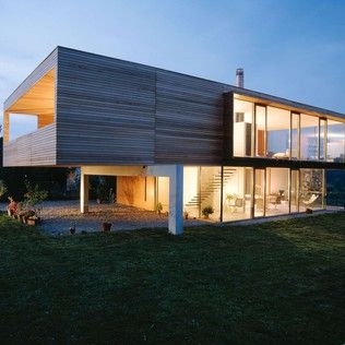 Modern houses by k-m architektur