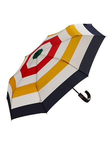 HBC Collections | HBC Collection | Multi Stripe - Compact Umbrella | Hudson's Bay