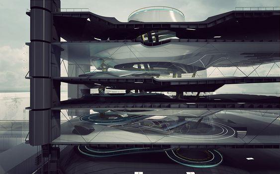 Amsterdam Workplace VI | Yaohua Wang | Archinect