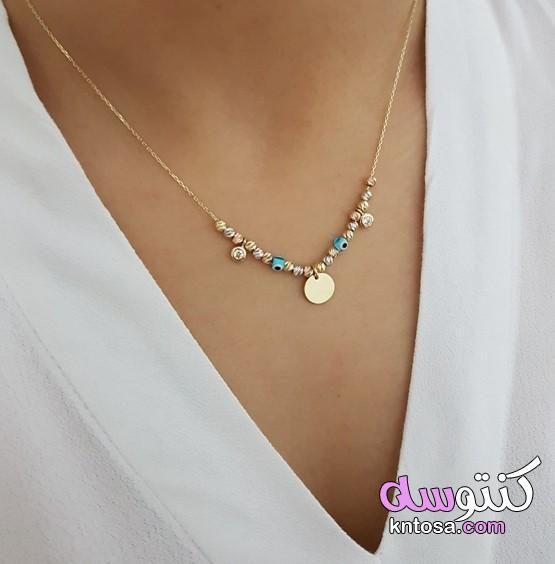 سلاسل هدايا سلاسل اكسسوارات ارق سلاسل 2021 لارق البنوتات سلاسل رقيقة جدا للبنات سلاسل ناعمة للعسولات Gold Necklace Diamond Necklace Jewelry