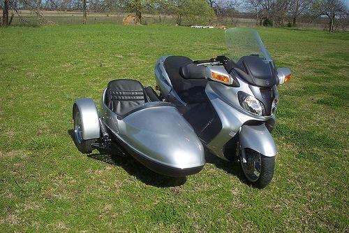 Burgman 650 with Sidecar