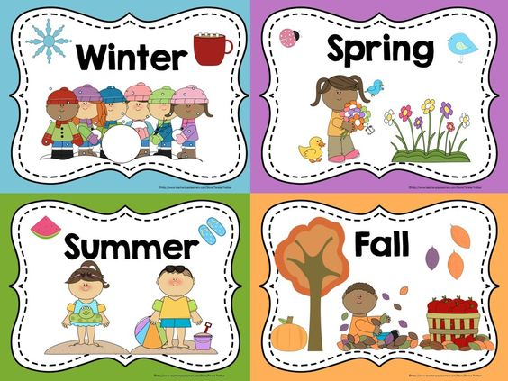 Resultat d'imatges de the seasons for kids poster