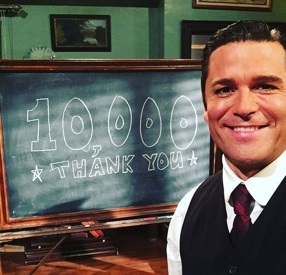 Wow guys 10k followers on Instagram very cool. Thanks so much!