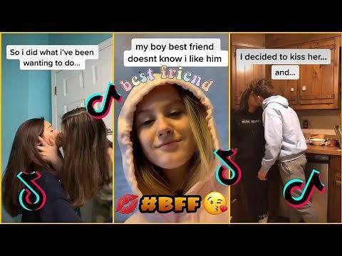 Trying To Kiss My Best Friend Tiktok At Duckduckgo Best Friend Challenges Boy And Girl Best Friends Friend Challenges
