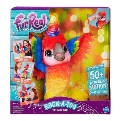 Furreal Rock A Too The Show Bird Fur Real Friends Little Live Pets Bird Toys
