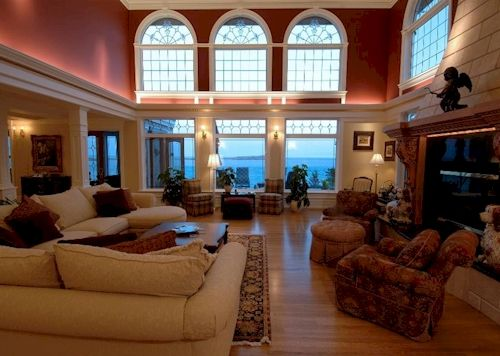 Mansion living rooms laylagrayce gabbyfurnishings for Klaus k living room