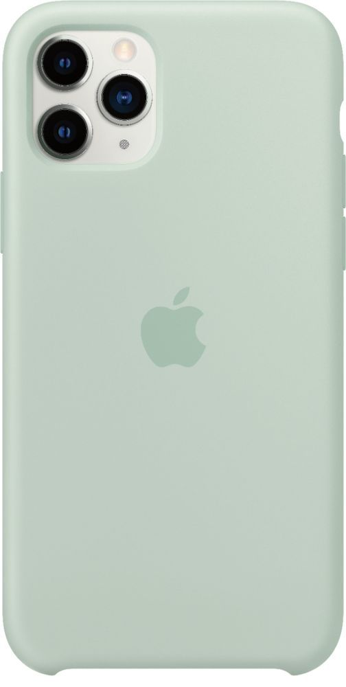 Apple Iphone 11 Pro Silicone Case Beryl Mxm72zm A Best Buy Iphone Iphone 11 Apple Ipad Case
