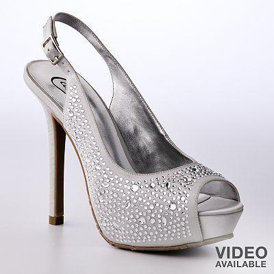 Candie's Peep-Toe Platform High Heels at Kohls $19.49