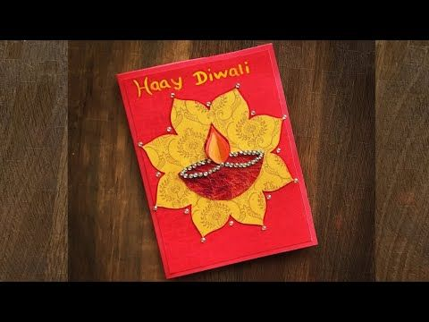 Diwali Greeting Cards Diwali Greeting Card Making Diwali