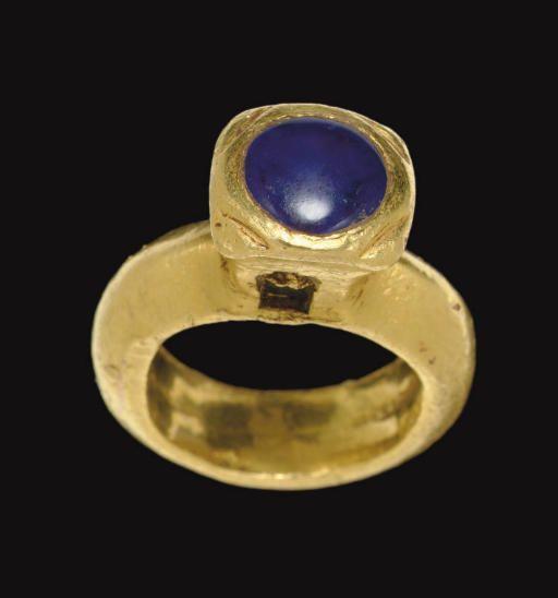 Ancient Jewellery Sapphire