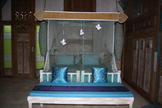 Blue Bungalow Bedroom