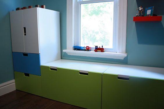 Tiny Box Room Ikea Stuva Loft Bed Making The Most Of: IKEA Stuva Storage Bench Review