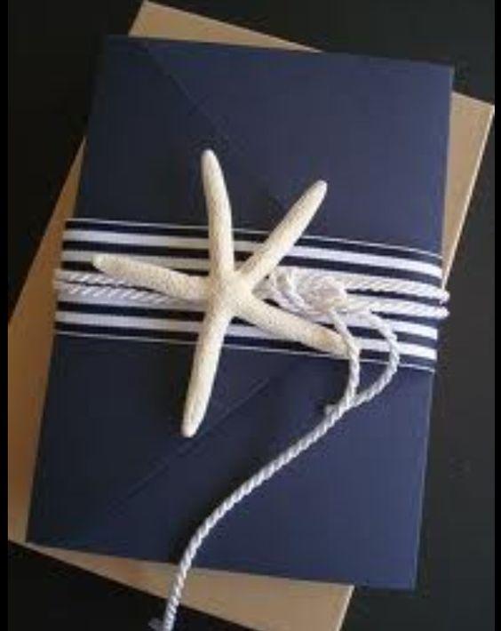 Nautical invite