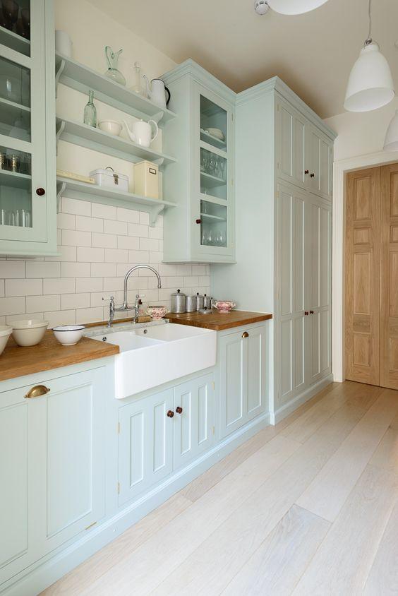 The Pimlico Kitchen by deVOL with beautiful oiled Prime oak worktops