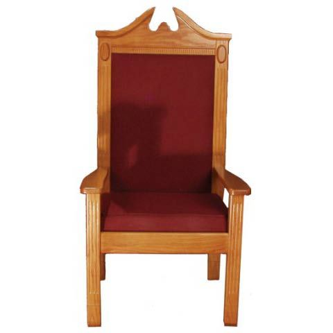 Traditional Style Center Pulpit Clergy Chair By Trinity Tpc 296c